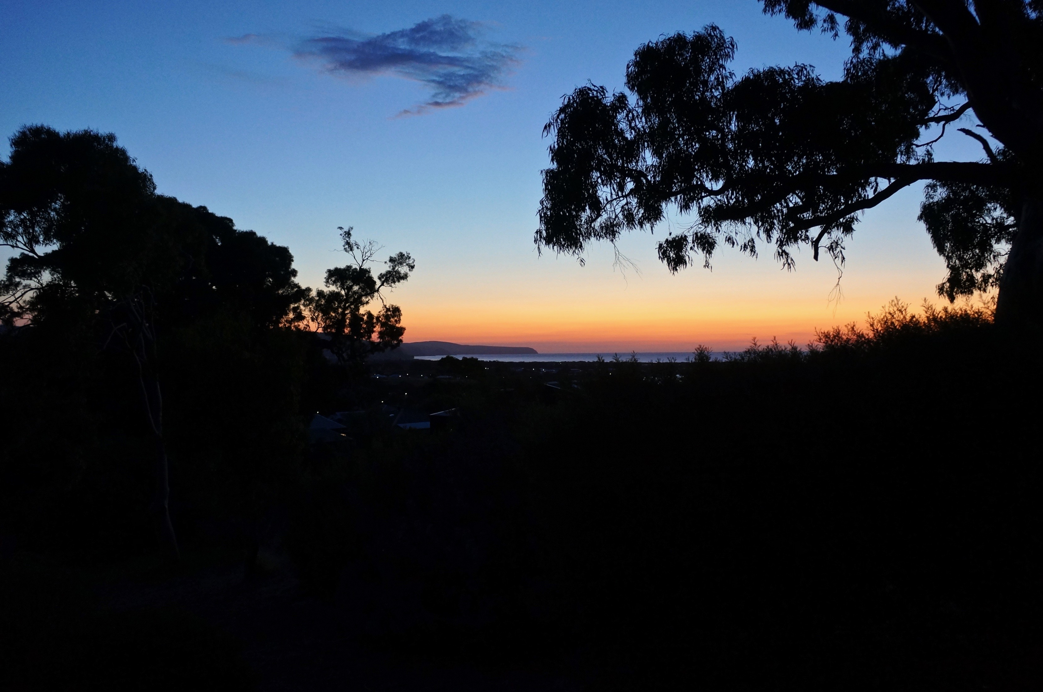 Sunset on the Fleurieu Peninsula